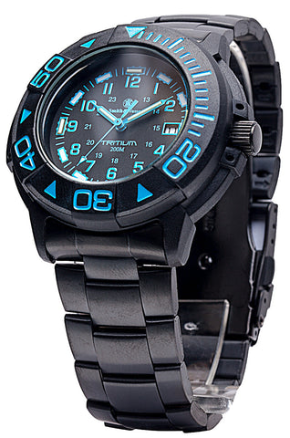 Smith & Wesson Diver Watch - Blue - SWISS TRITIUM - Camp Champs Club