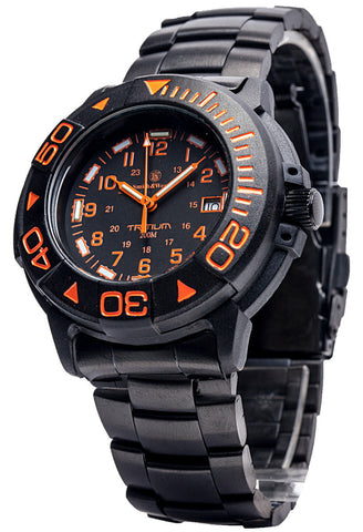 Smith & Wesson Diver Watch - Orange - SWISS TRITIUM - Camp Champs Club