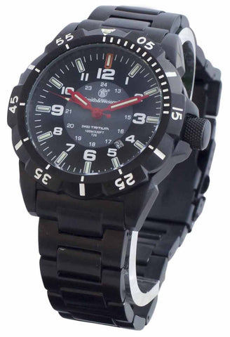 Smith & Wesson Emissary Watch - Black - SWISS TRITIUM - Camp Champs Club