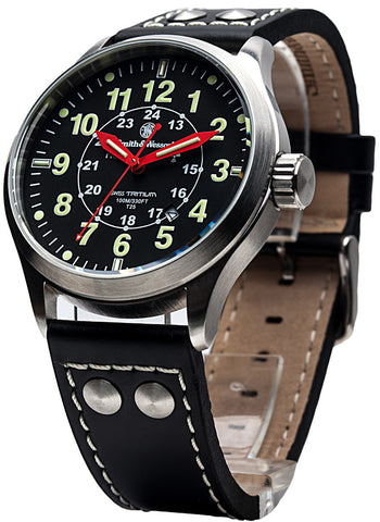 Smith & Wesson Mumbai Lamplighter Watch - SWISS TRITIUM - Camp Champs Club