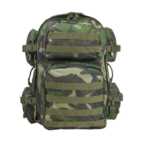 NcStar Tactical Backpack/Woodland Camo - Camp Champs Club