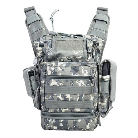 Vism By Ncstar Pvc First Responders Utility Bag/Digital Camo - Camp Champs Club