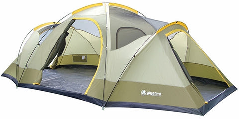 Gigatent Mt. Wolf Family Camping Tent - Camp Champs Club
