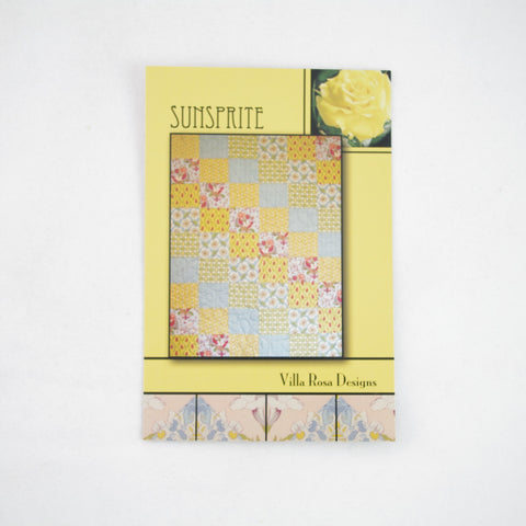Villa Rose 6FQ Pattern - Sunsprite