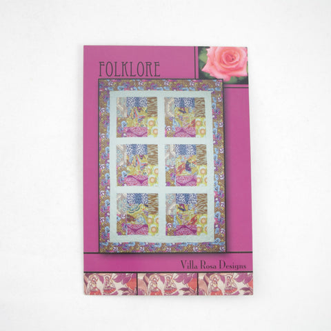 Villa Rose 6FQ Pattern - Folklore