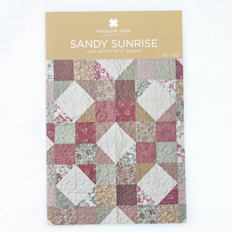 "Missouri Star Quilt Company 5"" Squares Pattern - Sandy Sunrise"