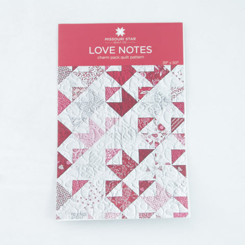 "Missouri Star Quilt Company 5"" Squares Pattern - Love Notes"