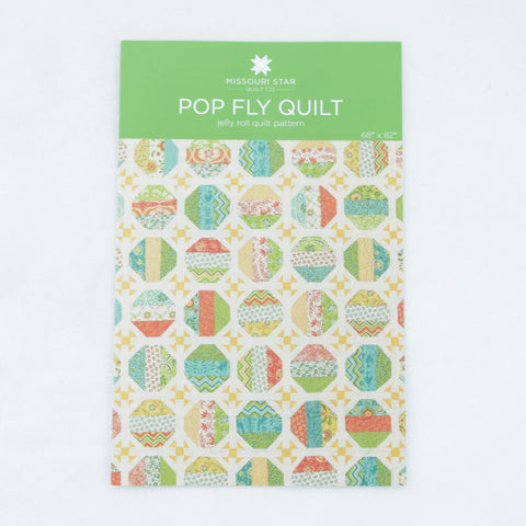 "Missouri Star Quilt Company 2.5"" Strips Pattern - Pop Fly Quilt"