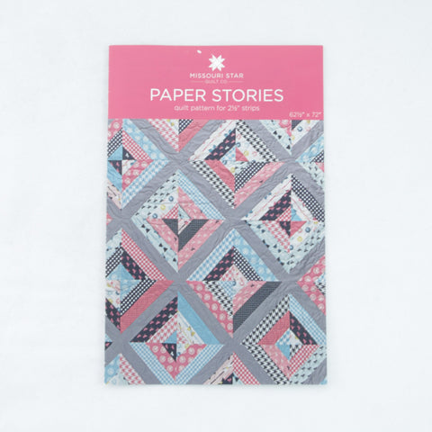 "Missouri Star Quilt Company 2.5"" Strips Pattern - Paper Stories"