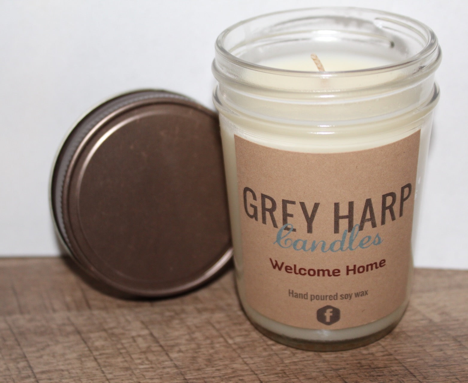 8oz Medium Soy Candle