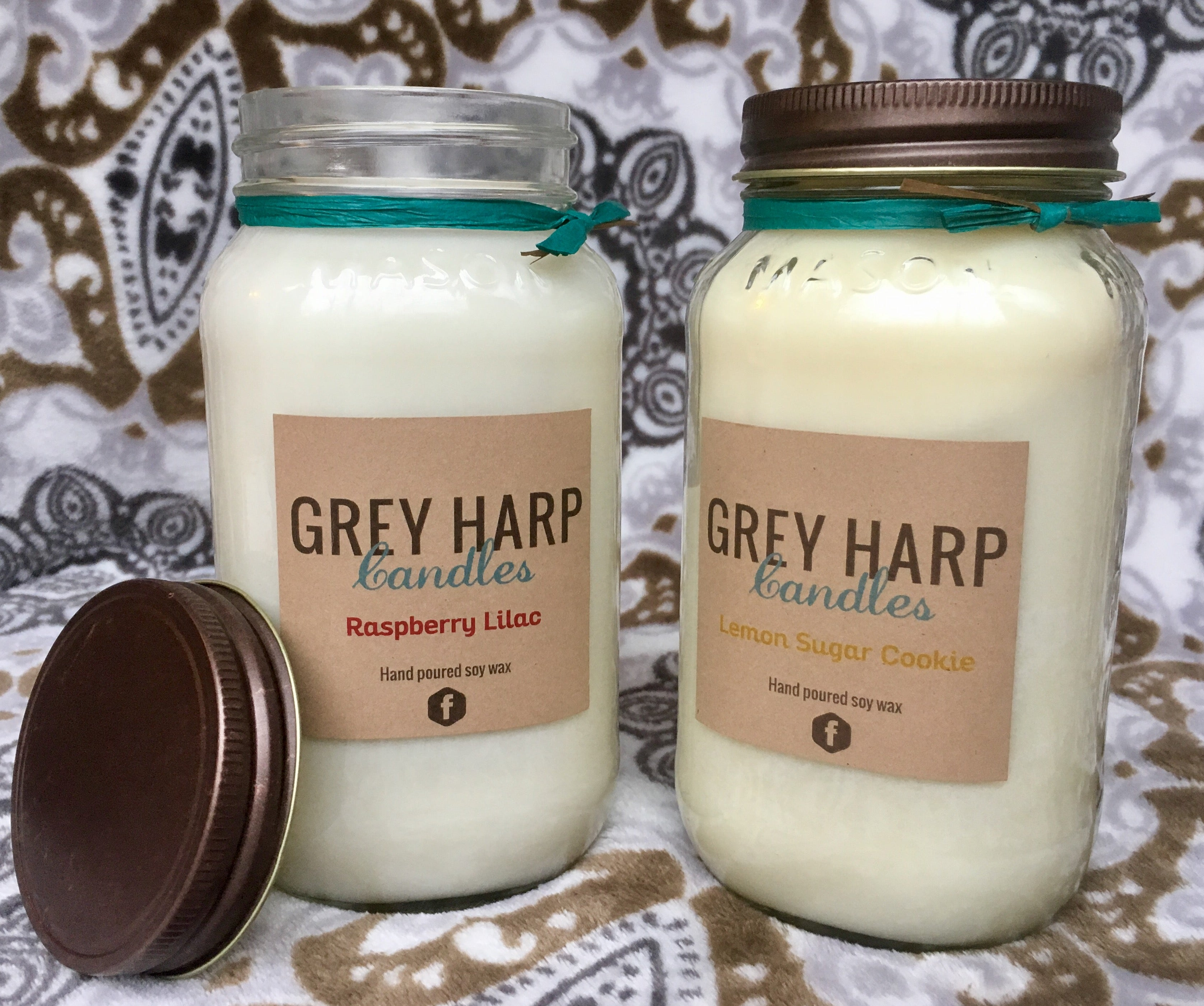 26 oz Extra Large Mason Jar Soy Candle