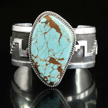 vintage native american turquoise cuff bracelet