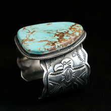 mens turquoise cuff bracelet