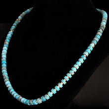 Genuine Sterling Silver Navajo Turquoise Bead
