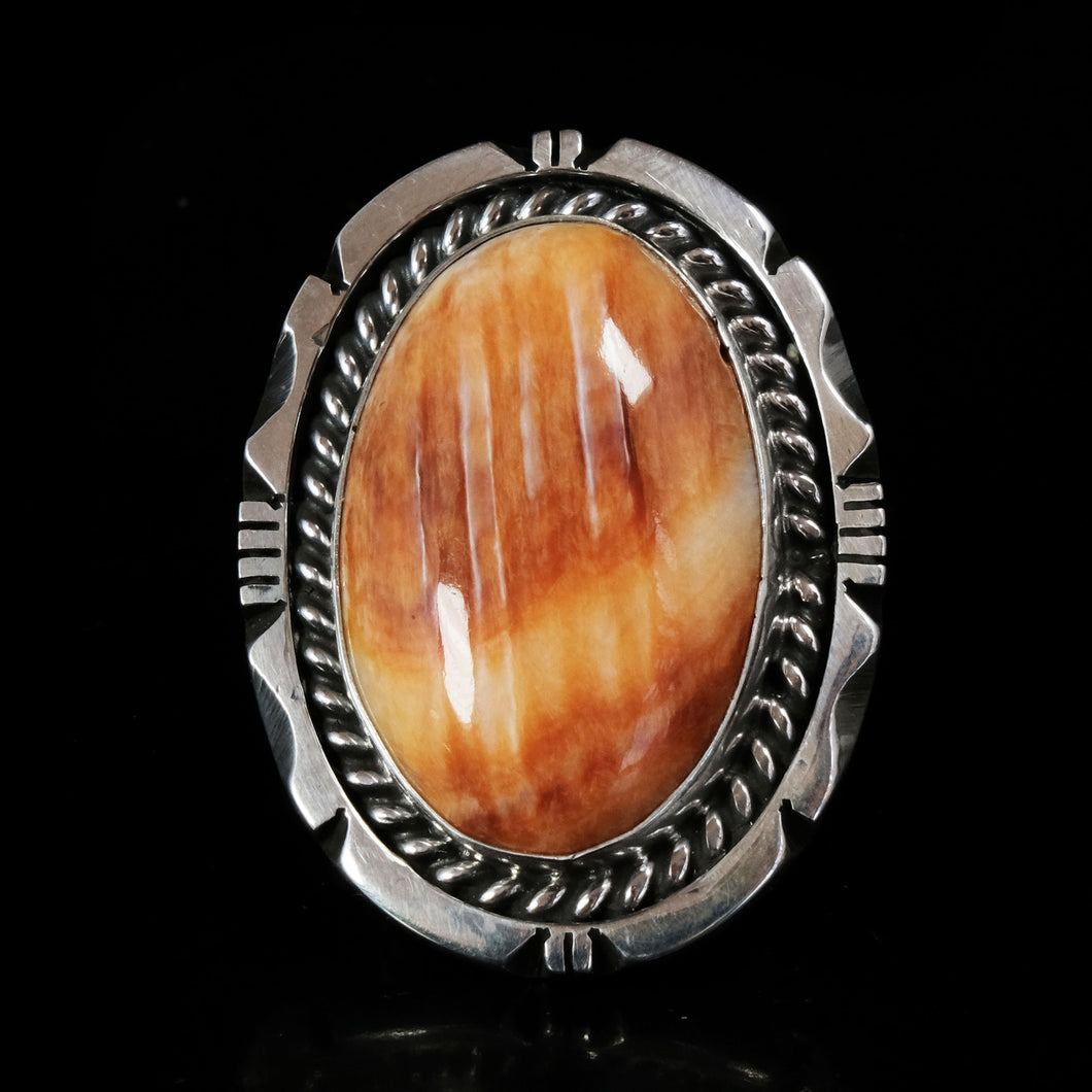 Orange Spiny Oyster Ring