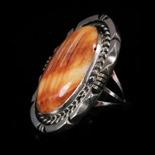 Navajo Orange Spiny Oyster Ring