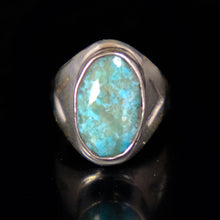 Turquoise & Sterling Silver Native American Ring