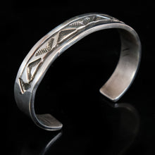 Sterling Silver Native American Statement Cuff Bracelet
