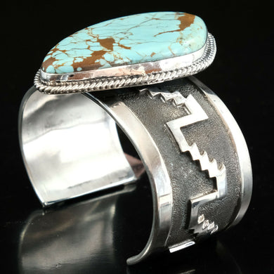 large turquoise sterling silver cuff bracelets