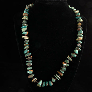 Vintage Navajo Turquoise Necklace