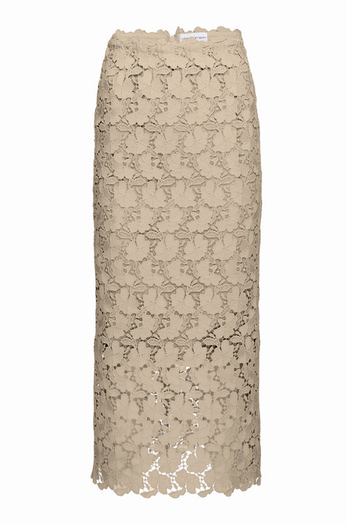 Robert Rodriguez Studio Lace Pencil Skirt. Spring 2017 Collection.
