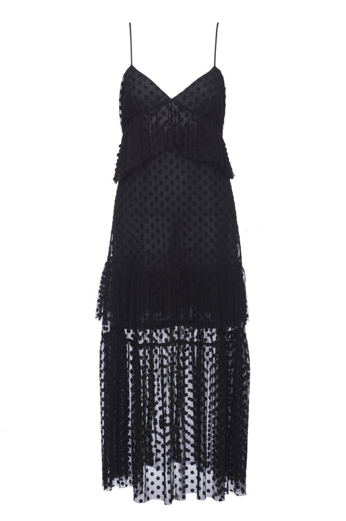 Robert Rodriguez Studio Polka Dot Lace Dress. Spring 2017