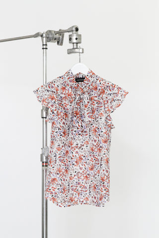 CARMEN SHORT FLORAL DRESS