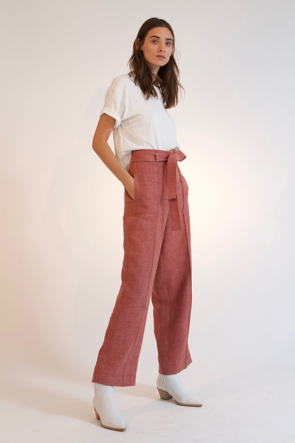 CHELSEA HW PANT, Pants - Robert Rodriguez Women's Fashion Collection