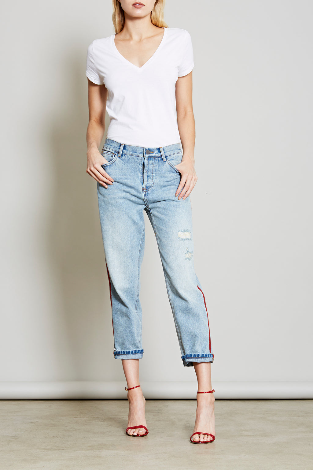 Robert Rodriguez Studio Resort 2018 Distressed Boyfriend Jean