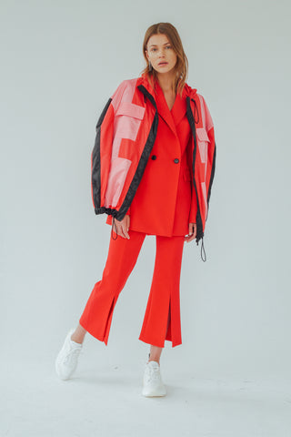 CELESTE COLOR BLOCK JACKET