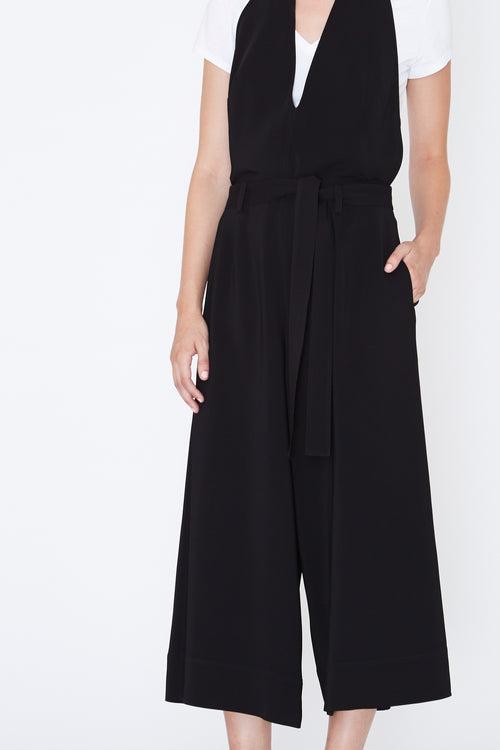 ROBERT RODRIGUEZ STUDIO Backless Halter JUMPSUIT