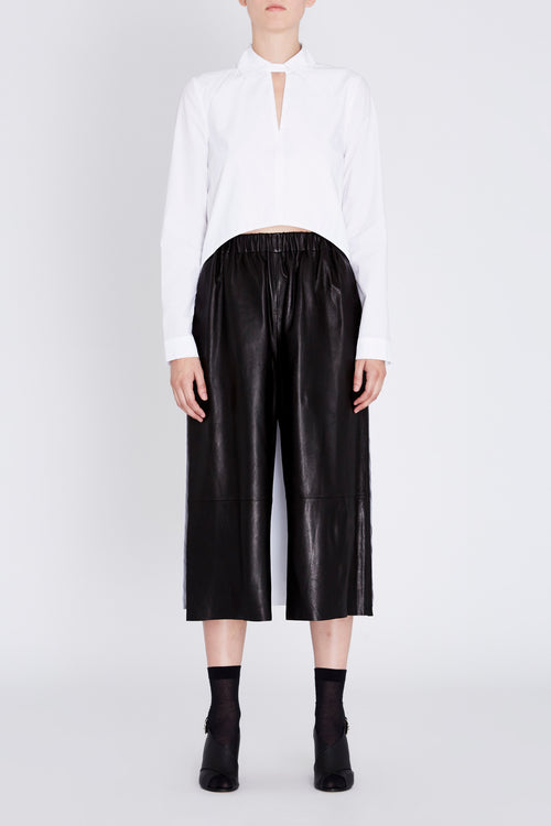 Robert Rodriguez Studio Black Leather Gaucho