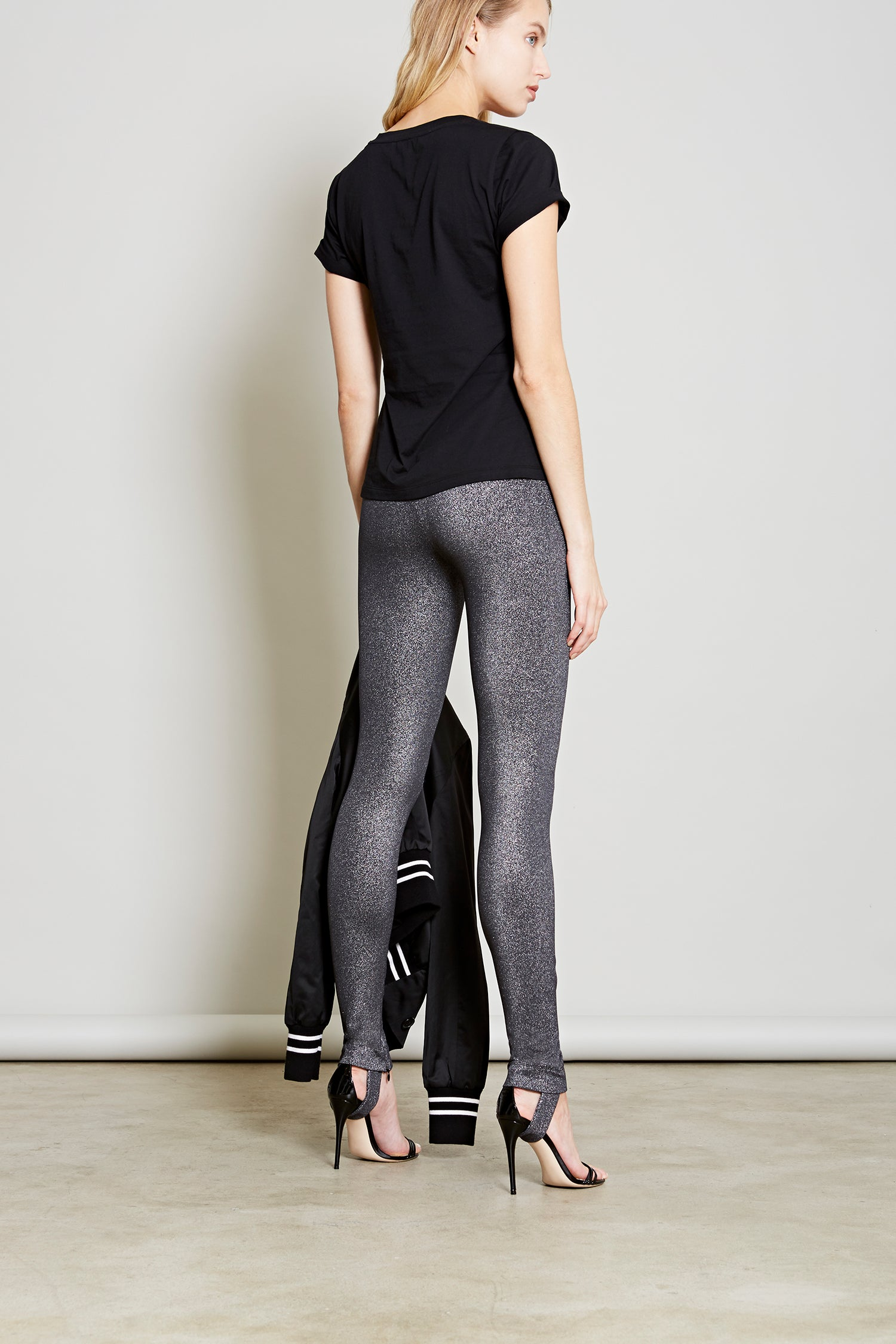 Robert Rodriguez Studio Resort 2018 Metallic Stirrup Pant