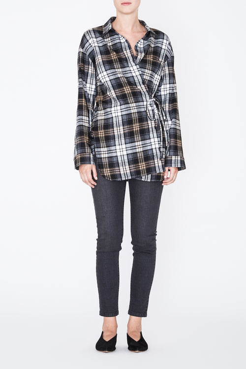 Robert Rodriguez -Oversized Plaid Shirt - Fall 2017