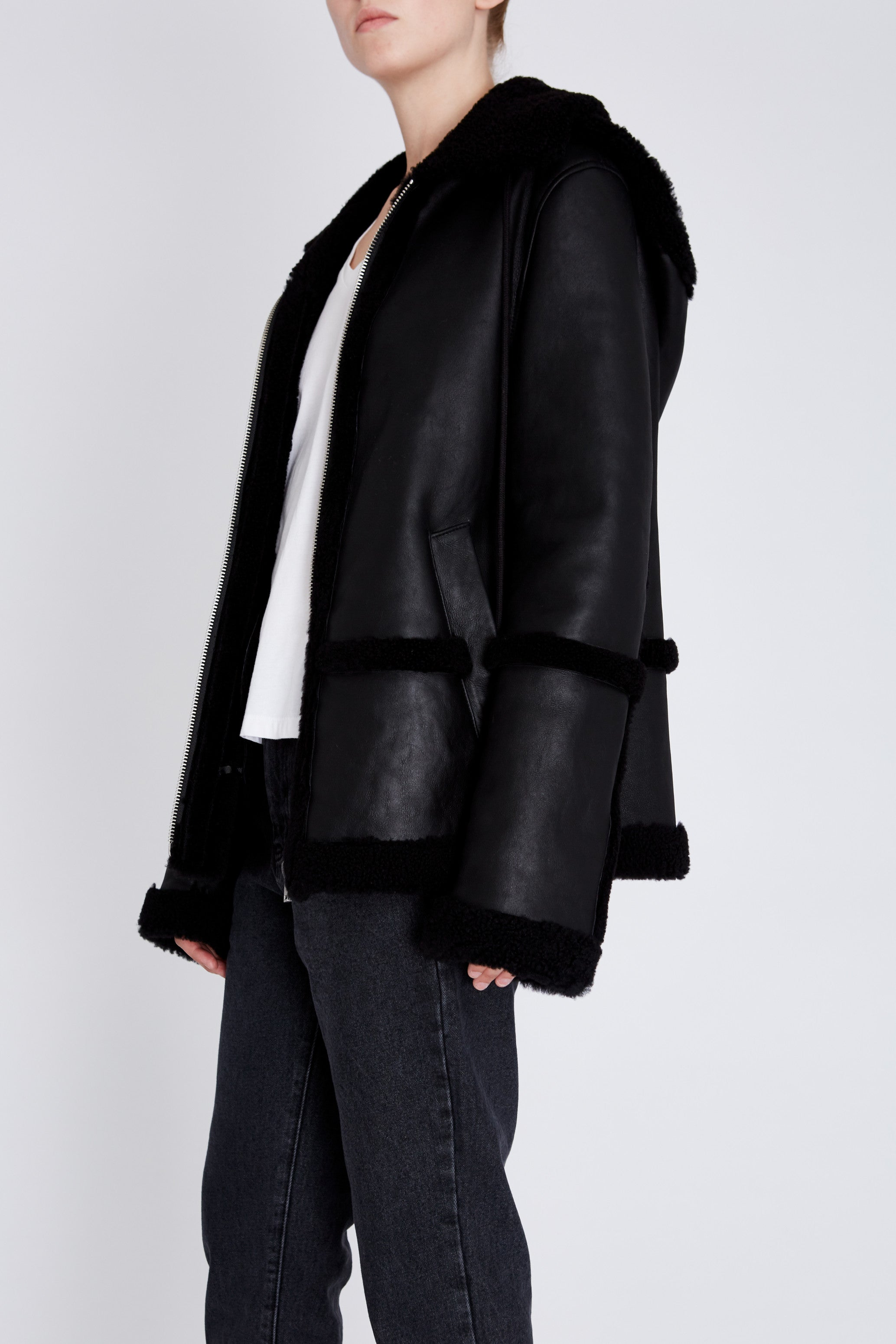 Robert Rodriguez Studio Shearling Jacket