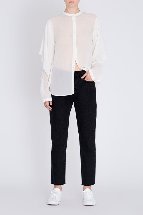 Robert Rodriguez Studio Shirt with Draped Detail