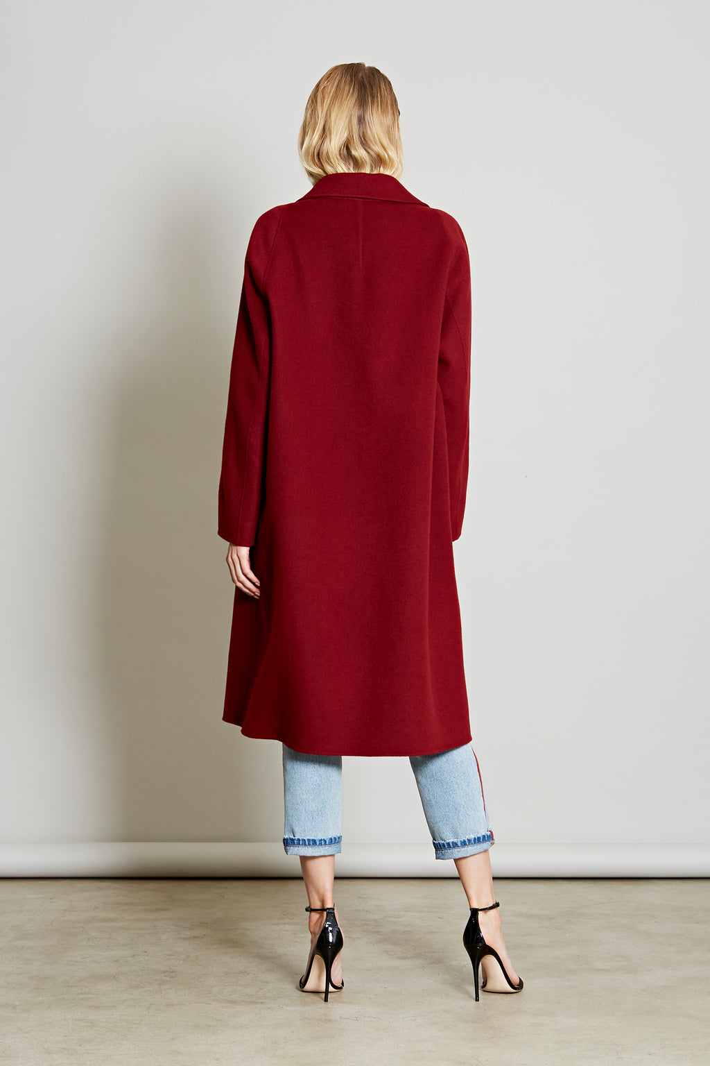Robert Rodriguez Studio Women's Fashion Designer Resort 2018 Wool Coat