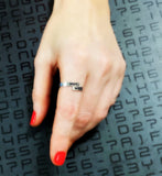 Hotwife Adjustable Stainless Steel Ring