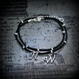Hotwife Black Suede Anklet