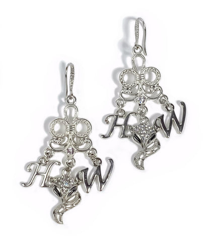 Hotwife Vixen Earring Set -  Rhinestone