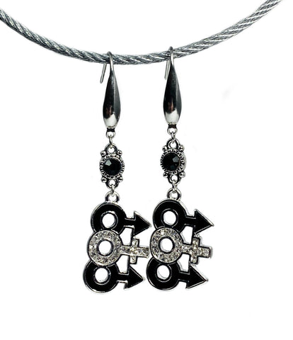 MFM Earring Set - Stainless Steel