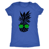 Pineapple with Sunglasses Tank Top and T-Shirt