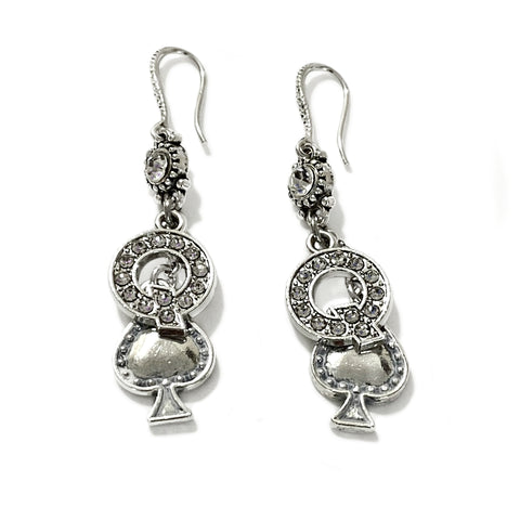 QOS Earring Set - Rhinestone