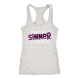 Sweating Like a Sinner in Church tank Top and T-Shirt