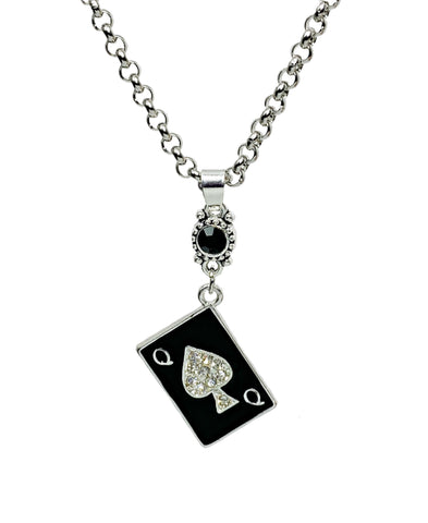 QOS Card Necklace