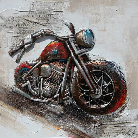 OLIVIA'S LOFT. Biker-art, hand-painted, retro-bike, garage, man-cave, Canvas-Art, Contemporary-Artwork, Home-Decor, Wall-Decor, Wall-Hanging, Gift-Idea, for-men,  Housewarming, Anniversary-gift, Interior-Design, Home-Staging, Large-Wall-Art Deco, large-Canvas Art, Wall-Art-Deco, Interior-Design Art, Home-staging-Painting, Modern-Painting, Abstract-Art,  Neutral-colors,artist-stretched-frame, Home-office, office-art, decor-gallery-art-gift, wall-furniture, modern-abstract, retro-art, automobile-art, garage-art, acrylic-painting, contemporary-artwork, Ikea, homesense, birthday-gift, housewarming-present, Interior-Design, Home-Decor-Idea, Decor-Idea, Living-Room-Decorating-Tips, Office-Renovation-Ideas,wall-art, original-art,