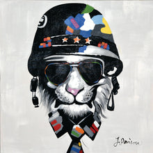 """Cool Cat"" Painted in Acrylic on Canvas"
