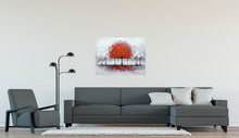 """Red Tree"" Painting on Canvas"