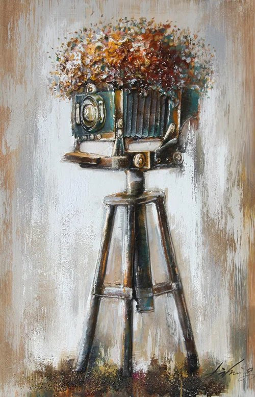 OLIVIA'S LOFT | Art-Under-$100 | Original-Oil-Painting-