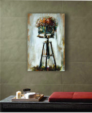 "OLIVIA'S LOFT | Art-under-$100 | Painting Retro Camera | ""Flora Vista"" 